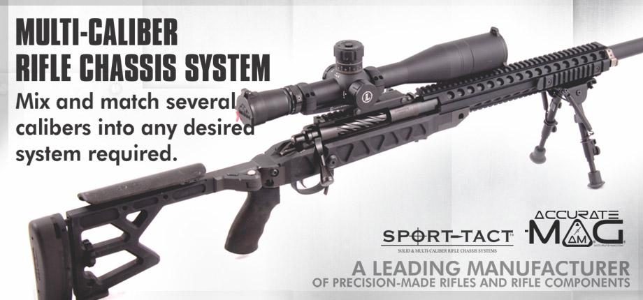 Multi-Caliber Rifle Chasis System